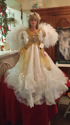Angel by Rustie Victorian beauty doll  stunning one of a kind with wings #rustie
