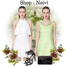 Pure Color Strap Slim Dress