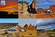 6 Amazingly Scenic US Southwest Desert Campsites - http://www.loveyourrv.com/6-amazingly-scenic-us-southwest-desert-campsites/