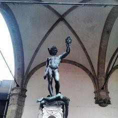 Firenze - Perseo e la Medusa -