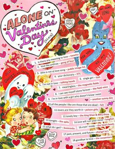 Playlist if you are ticked off about love on valentines day
