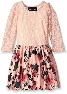 Elisabeth Little Girls' Dress Drop Waist Lace Top with Print Skirt, Peach, 6 Elisabeth http://www.amazon.com/dp/B014G9G9UK/ref=cm_sw_r_pi_dp_1wpXwb01Q5NBF
