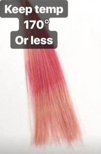 One of the reasons your hair colour might be fading is that you're using your styling tools at too high a heat. Anything over 170 degrees Celsius Fahrenheit) WILL fade your colour. Hair Colour, Color, Coloured Hair, Styling Tools, Your Hair, Beauty, Colorful Hair, Colour, Dyed Hair