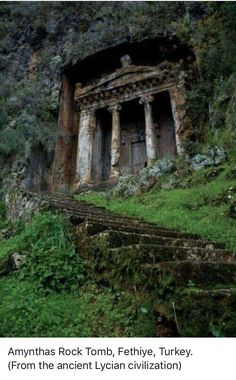 Amynthas Rock Tomb, Fethiye, Turkey