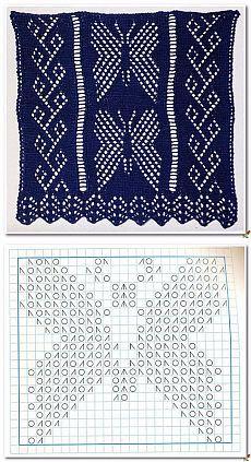 Lace Knitting Stitches, Lace Knitting Patterns, Cable Knitting, Knitting Charts, Easy Knitting, Stitch Patterns, Lace Patterns, Diy Couture, Knitting Projects