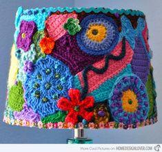 15 Girly DIY Lamp Shade Designs