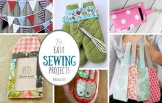 25  easy sewing projects