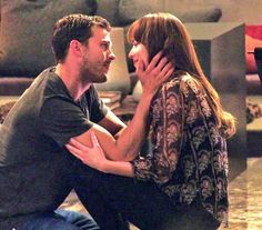 Fifty Shades Darker ::this is what love looks like...their faces omg ::swooon::