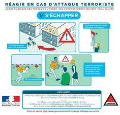 FRANCE - Terrorisme: que faire en cas d'attentat? Une affiche officielle pour expliquer les bons réflexes - France 24