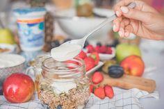 musli z jogurtem bakoma Cereal, Breakfast, Morning Coffee, Breakfast Cereal, Corn Flakes