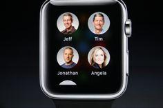 Straightforward contact design on the Apple Watch