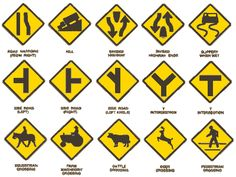 John's World: Which Sign to Follow... Road Sign Meanings, Driving Theory, Keep To Myself, Have Good Day, Wake Up Call, Letting Go Of Him, Lie To Me, Street Signs, Sign I
