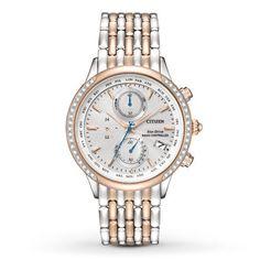 Kay - Citizen Women's Watch World Chronograph A-T FC5006-55A