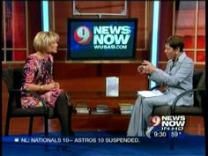 Caroline in the News on WUSA 9.