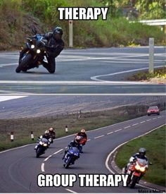 Bike Stuff, Funny Shit, Motorcycles, Therapy, Humor, Life, Motorbikes, Hobbies, Funny Things