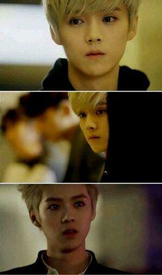 1ae360153cf1 Luhan in wolf drama ver.. Perfection! Hunhan
