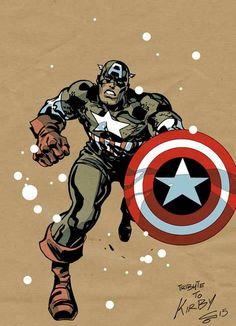 Captain America by Carmine Di Giandomenico