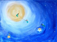 Helping Starlight  canvas by DreamTreeWonders on Etsy