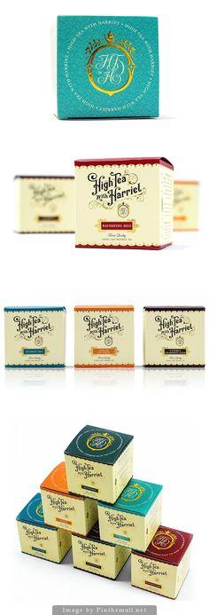 Japanese Inspired Origami Tea Packaging