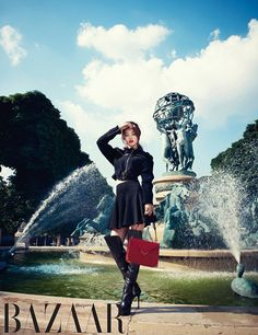 Suzy Goes To France With Harper's Bazaar
