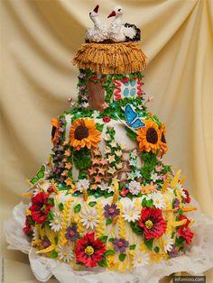 Ukraniane wedding cakes | Ukrainian wedding cake | Cakes