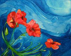 The grass withers.. the flowers fade.. by RedHead Art, via Flickr