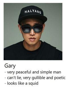 Get To Know Running Man Members - Kang Gary