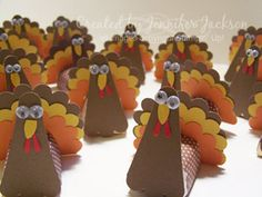 super cute turkey to hide a choc. candy!