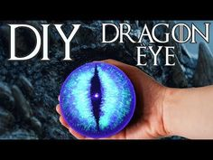 DIY Game of Thrones Viserion White Walker Dragon Eye Tutorial Decoration Night King Game Of Thrones Decor, Game Of Thrones Party, Game Of Thrones Dragons, Head In A Jar, Dragon Party, Dragon Crafts, Dragon Eye, Night King, Potion Bottle