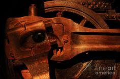 Steampunk Part Number 93063 Ghost In The Machine Photograph  - Steampunk Part Number 93063 Ghost In The Machine Fine Art Print