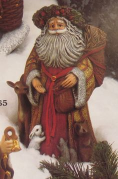 Ready To Paint Ceramic Bisque Woodland Santa Clause Ready To Paint Ceramic…                                                                                                                                                                                 More