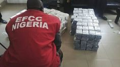 JUST IN: Shocking! EFCC Intercepts Bundles of Brand New Millions of Naira Notes at Kaduna Airport (Photos)