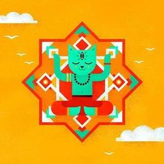 Кот Шанти - персонаж для фирменного стиля фестиваля INAYA @inayafest   #illustrationartists #design #graphicdesigner #illustration #illustrator #behance #dribbble #bestvector #character #identity #cat #yoga #graphicdesign #mandala #иллюстрация #иллюстратор #дизайн #дизайнер #кот #йога #shanti #графика #вектор #персонаж #фирменныйстиль #brandidentity