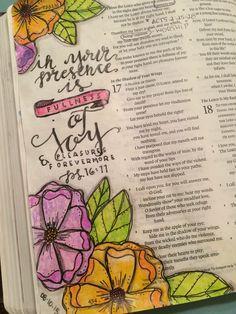 Psalm 16:11 fullness of joy
