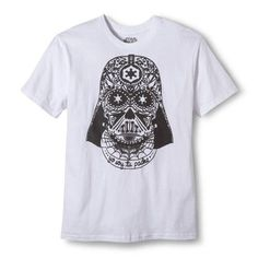 Men's Star Wars Soy Tu Padre Darth Vader Graphic Tee - White