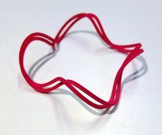 2x4 20mmTwisted bangle Bangles, Shapes, Bracelets, Bracelet, Cuff Bracelets, Arm Bracelets, Anklets