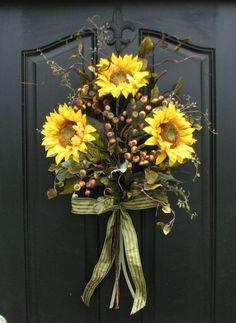 Sunflower Decor #DIYHomeDecorSummer