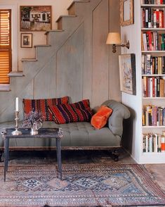 """6,047 Likes, 39 Comments - One Kings Lane (@onekingslane) on Instagram: """"This cozy little spot looks like the perfect place to curl up with a good book and some hot…"""""""