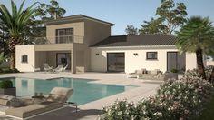 Maison Cloé 150 Design Toit 4 pentes - Les Maisons de Manon | Faire construire sa maison