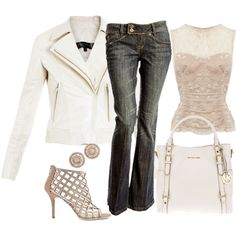 White Bag..., created by lbite1 on Polyvore