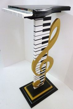 Piano keyboard stand/art/furniture