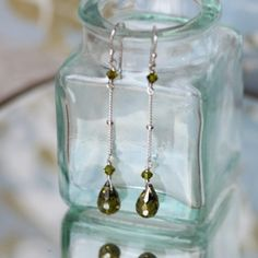 Sweet Midori indie drop earrings - ruche - how great would these look w/hair pulled back from face + wearing a black halter maxi dress?