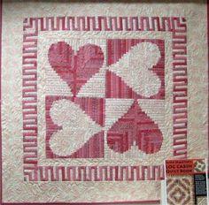 "Judy martin Quilts | ... Quilt a partir del hermoso libro de Judy Martin ""Log Cabin Quilt Book"