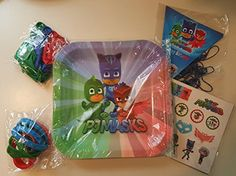Looking For That Extra Flair For Your PJ Masks-Themed Party? Look No Further! 10 Party Guest Sets At A Great Price Ensures Every Child Can Leave With One And Have A Blast! Please Note; Latex Balloons ...