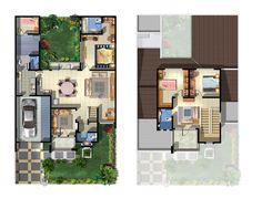 Gambar Denah Rumah Minimalis Type 36 Terbaru