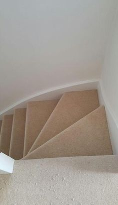 Client: Private Residence In South London  Brief: To supply & install beige carpet to stairs