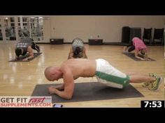 Insane ab workout video  Get Fit Fast Ab Workout-15 min of pain. planks is where it's @