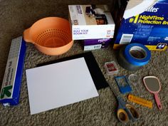 DIY tutorial to make eclipse-viewers, including boxes!  What to do and NOT do!