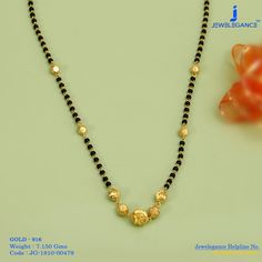 Gold 916 Premium Design Get in touch with us on Gold Mangalsutra Designs, Gold Jewellery Design, Silver Anklets, Beaded Jewelry, Silver Jewelry, Silver Earrings, Gold Set, Wedding Jewelry, Jewelry Collection