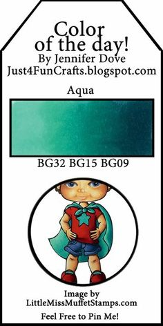 Color of the Day 124 | Just4FunCrafts and DoveArt Studios | Bloglovin